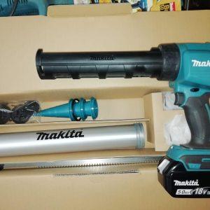 Pistol pentru silicon compatibil cu acumulator 18V MAKITA DCG180 A