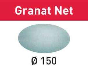 Rondela abraziva velcro tip plasa Granat