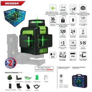 Laser verde cu proiectare 3D Dedra